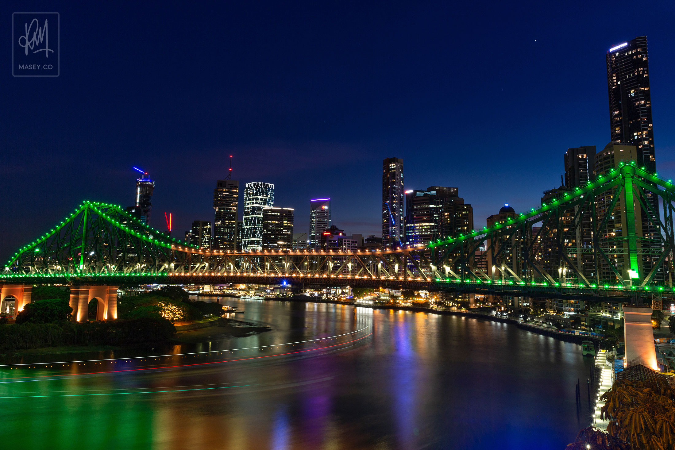 Brisbane night photo walk