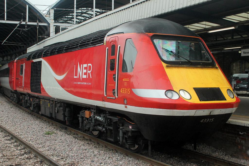 HST: 43315 LNER Newcastle Central | HST Power Car 43315