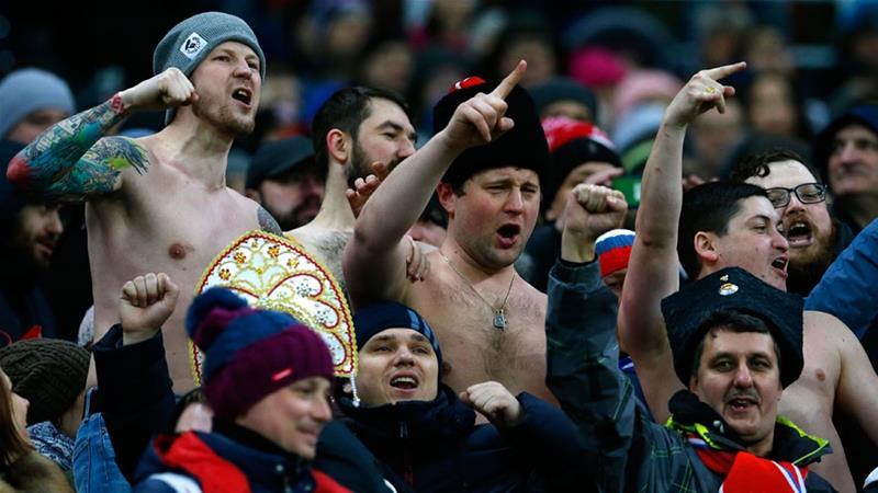 世足赛于俄罗斯开打,同志球迷忧遭歧视与攻击。(图片来源:Alexander Zemlianichenko/AP)