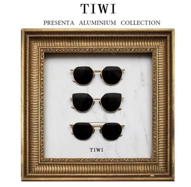 'Aluminiun Collection' La nueva colección de gafas de Tiwi