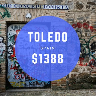 Toledo Spain $1388 mo
