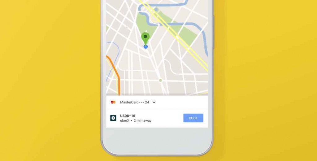 Ya no puedes pedir un Uber desde Google Maps