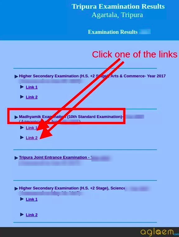 TBSE Madhyamik Supplementary Result 2018