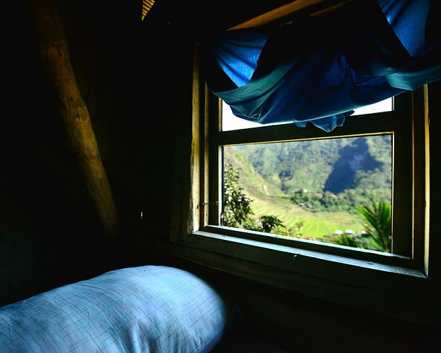Nuestra ventana en los arrozales de Batad