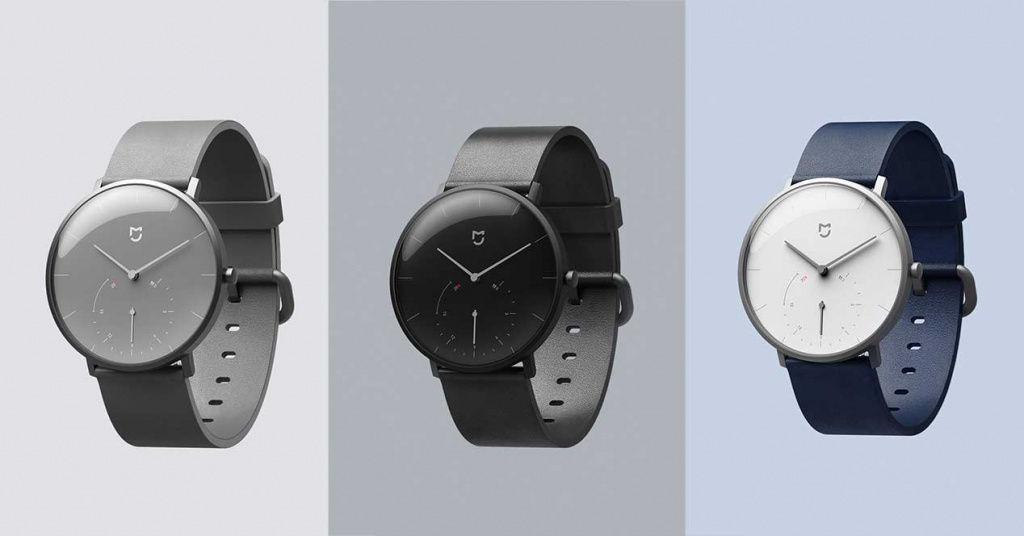 Xiaomi lanza un reloj de aguja que tiene podómetro y notificaciones