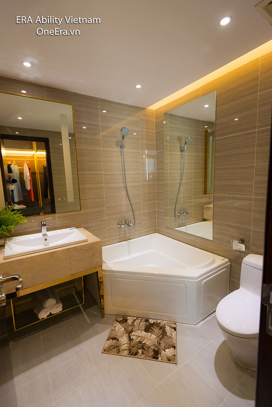 Phòng tắm master Căn hộ mẫu 2 phòng ngủ Jamona Heights