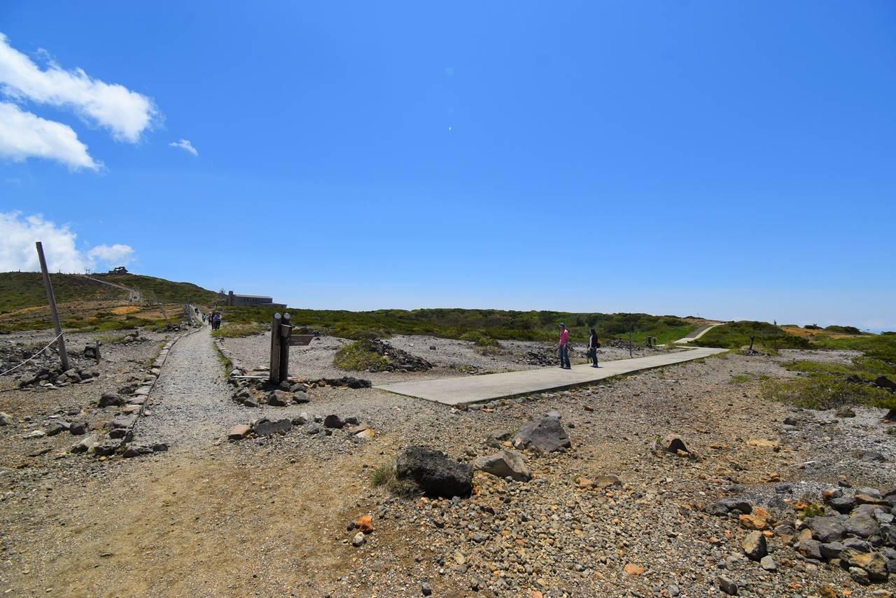 蔵王連峰縦走 刈田岳から熊野岳までの稜線ハイク