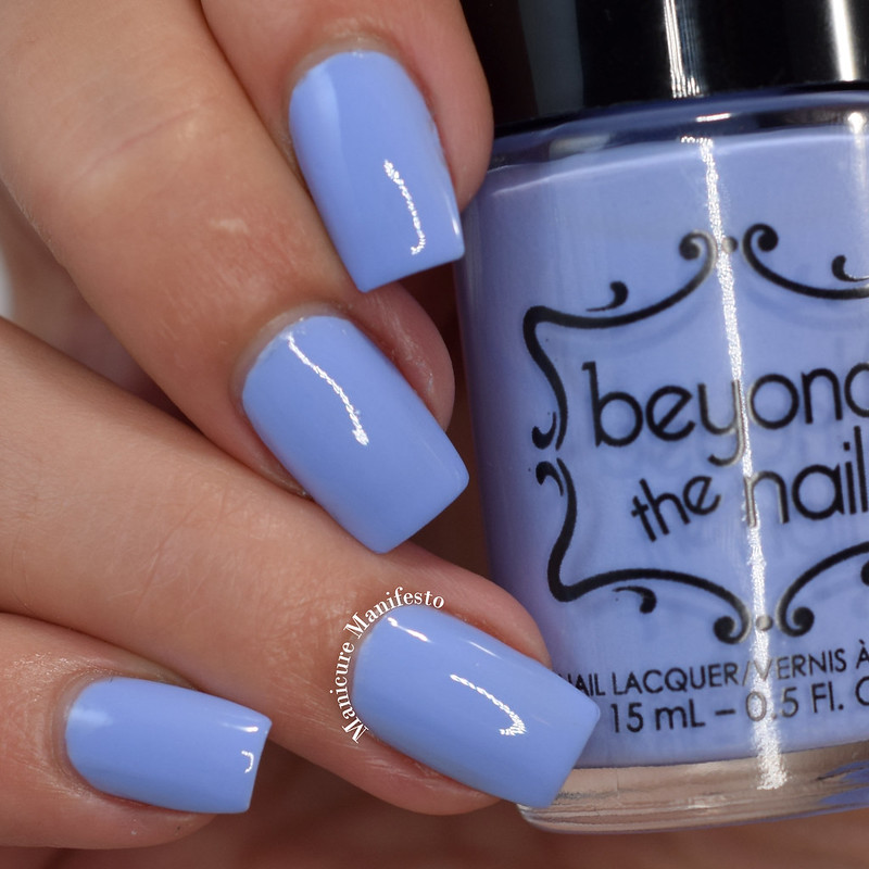 Beyond The Nail Popping Periwinkle