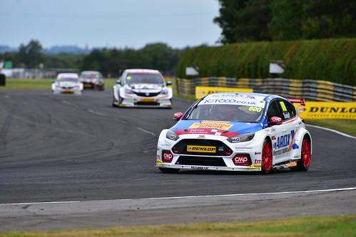 Sam Tordoff, Ford Focus RS, British Touring Car Championship, Croft 2018