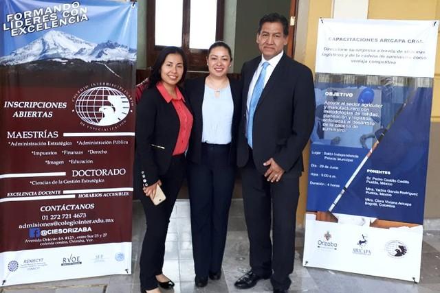 Yadira Garcia Rodríguez, Clara Viviana Aricapa y Pedro Castillo Cedillo - Aricapa Consultoría