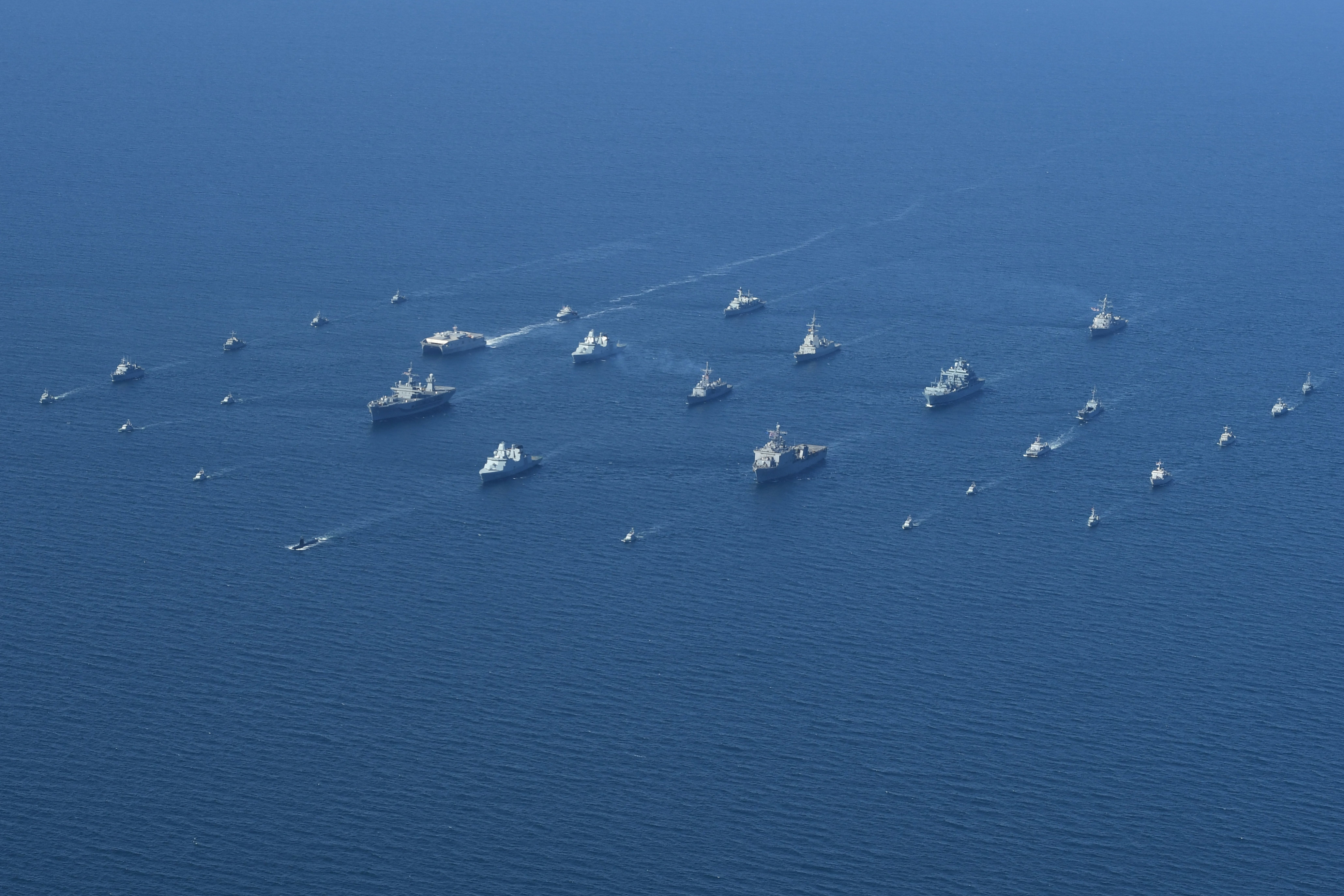 Nsmwdc Archive Akira Navy M Navys Mine Warfare Battle Staff Leads 16 Nation Miw Force In Baltops 18
