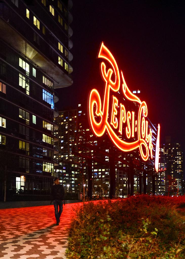 Cartel de Pepsi-Cola de Nueva York, uno de los miradores más famosos de Nueva York