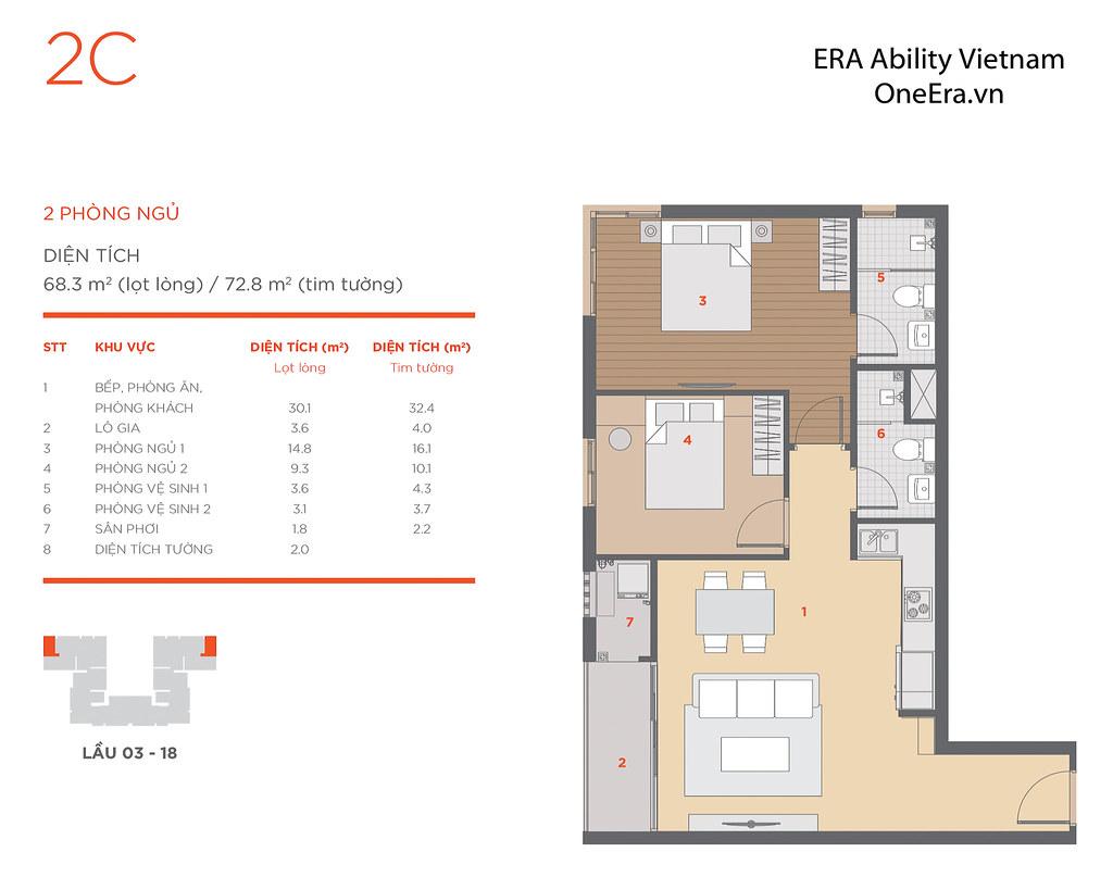 Mặt bằng tầng và thiết kế căn hộ Hausneo 49