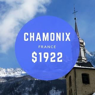 Chamonix France $962 wk