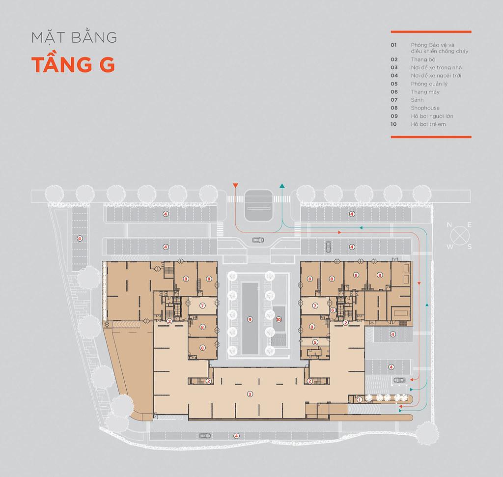 Mặt bằng tầng và thiết kế căn hộ Hausneo 30