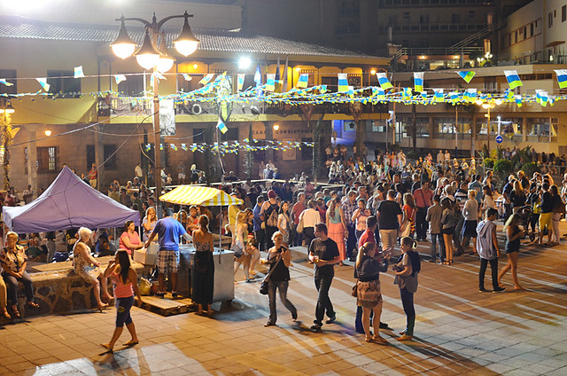 Sardinada, July fiestas, Puerto de la Cruz, Tenerife
