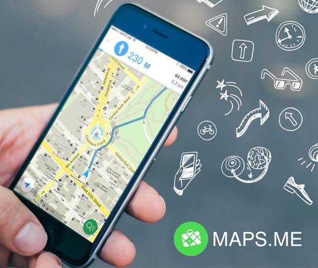 Maps.me posiblemente la mejor aplicación de mapas de Internet