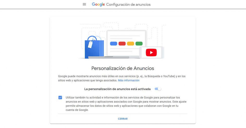 El nuevo ajuste oculto de Google que permite ver lo que recopila de ti para los anunciantes