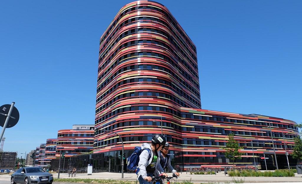 漢堡邦都市發展暨住宅署、環境與能源署行政大樓。