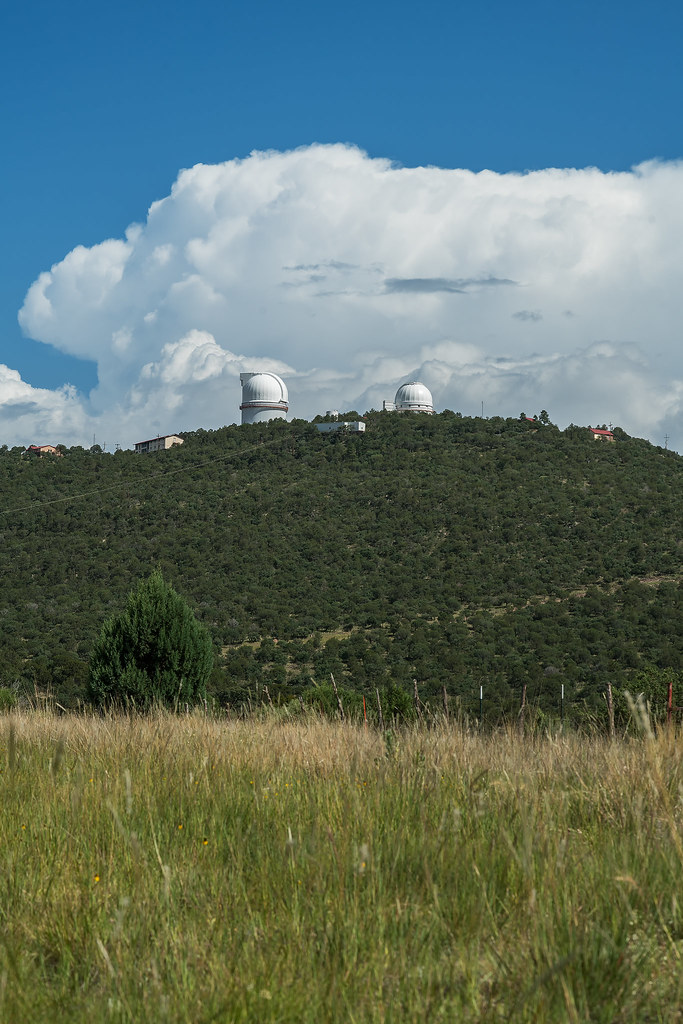 eastern flank of the McDonald Observatory