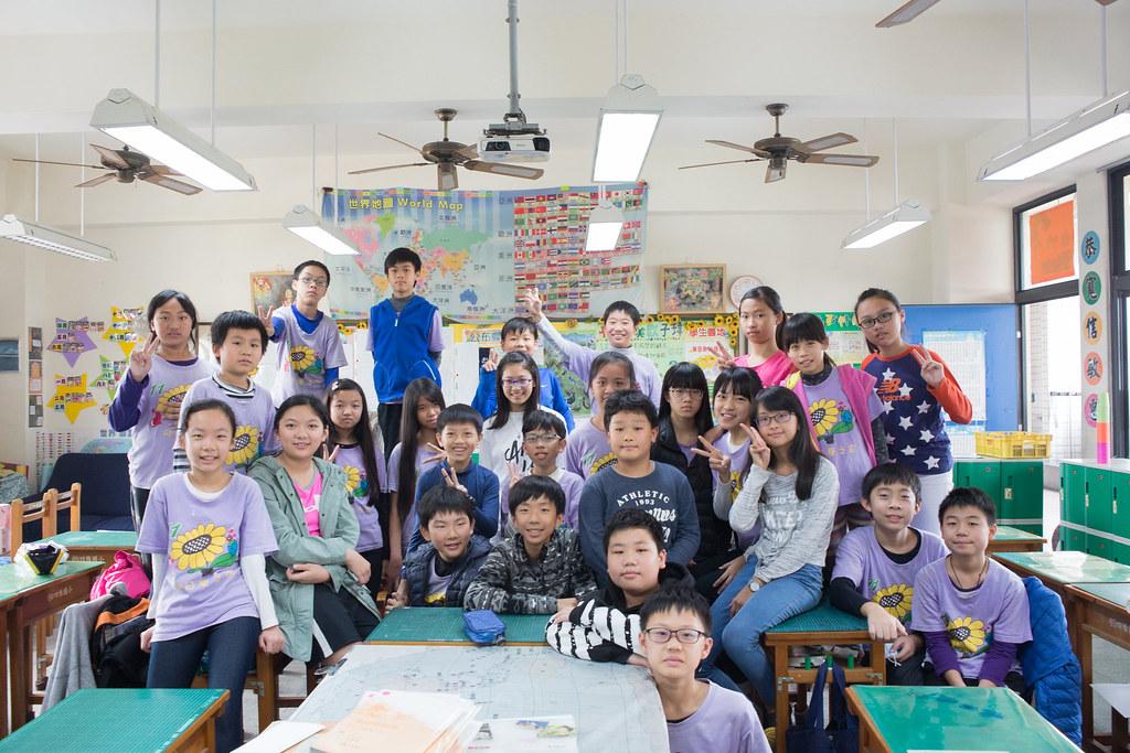 四維國小六年十一班同學完成了一趟不製造塑膠垃圾的畢業旅行。