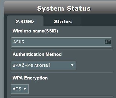 Asus WiFi whitelist