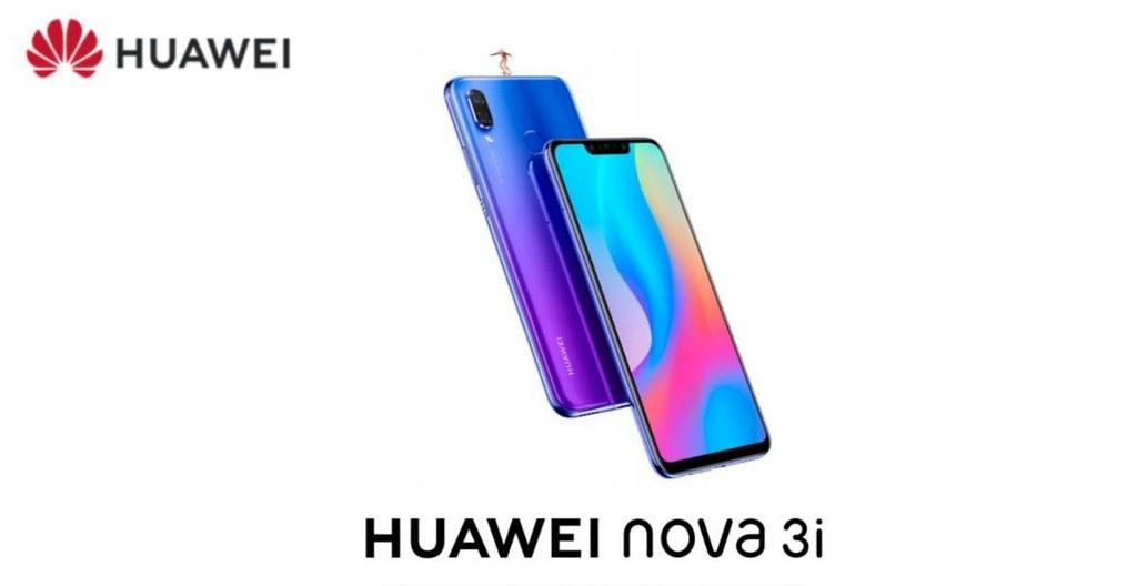 New HUAWEI nova 3i - a mid-range smartphone for the selfie
