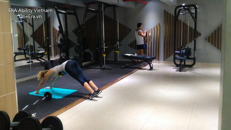 phòng gym đầy đủ thiết bị Masteri Thảo Điền