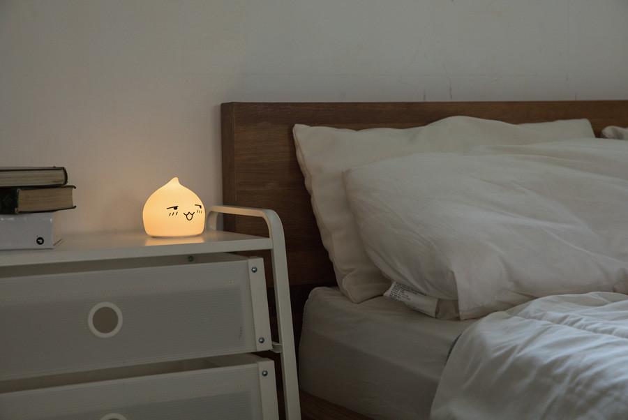 兩款表情,可愛夜燈