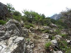 Chemin de la Montagne: après Posta di A Strada