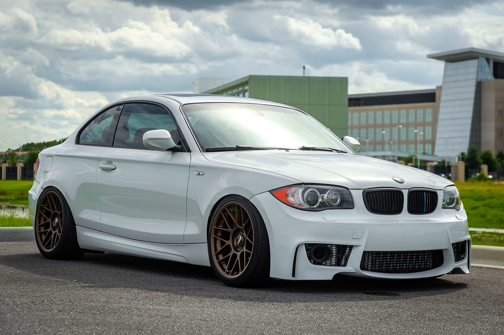 Fabian S 2010 Bmw 135i With 18 Quot Arc 8 Wheels In Matte Bron