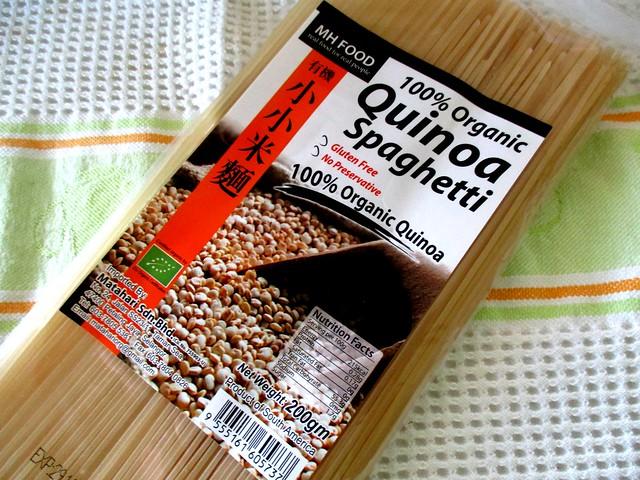 Quinoa spaghetti