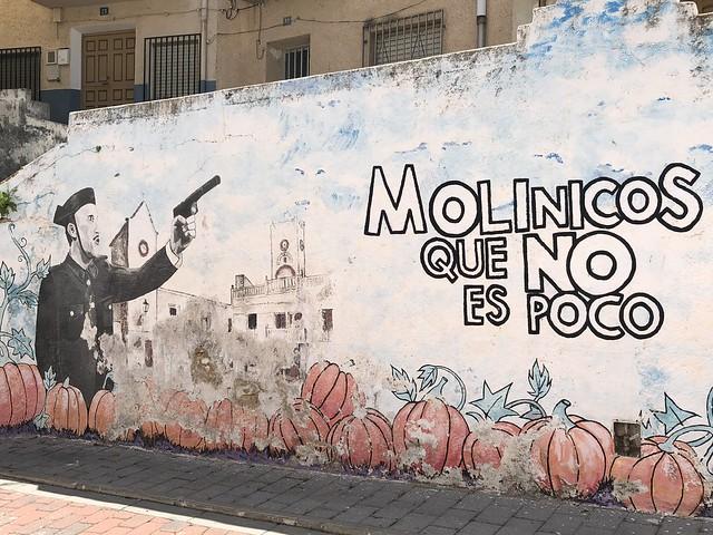 Mural de Molinicos que no es poco (Ruta de Amanece que no es poco)