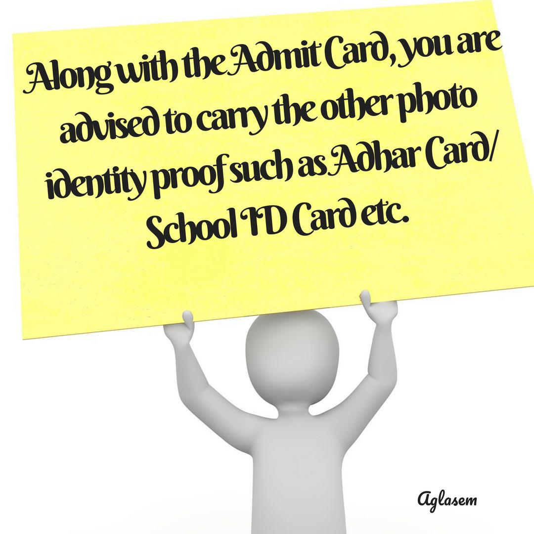 HPBOSE 10th Admit Card 2019