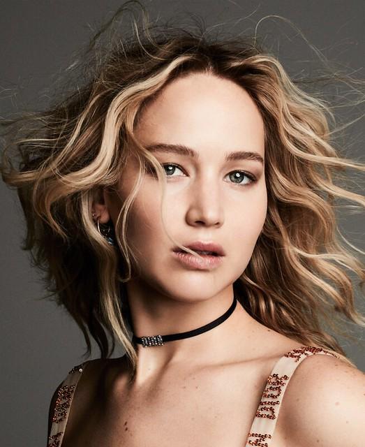 Jennifer Lawrence, el rostro de la nueva fragancia femenina Dior