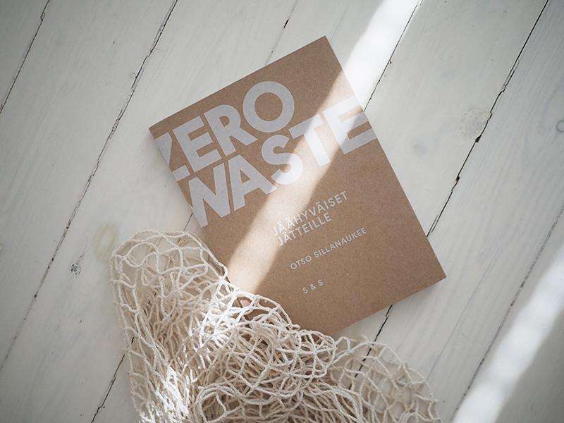 Otso Sillanaukee Zero Waste kirja