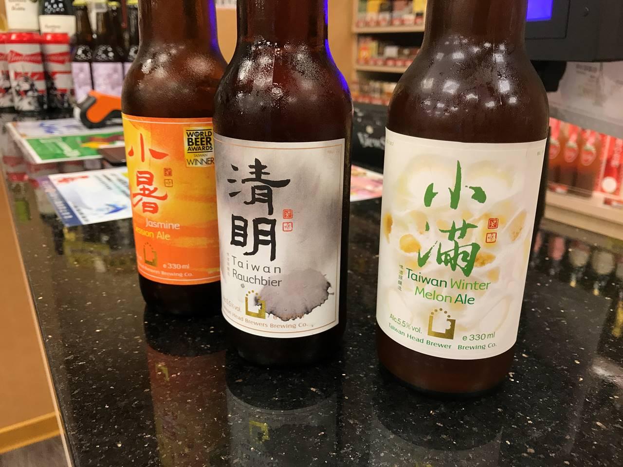 台湾・台北 士林夜市 ビール