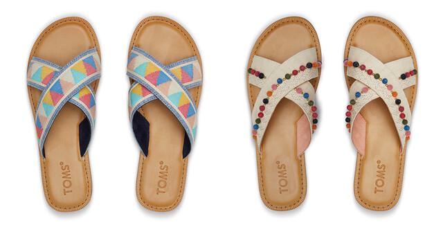 Sandalias étnico-minimalistas de Toms