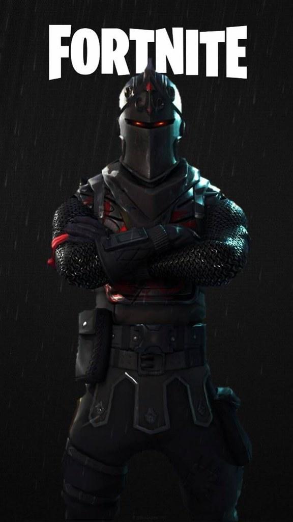Xbox 1080x1080 Gamerpic: Fortnite Wallpaper : Black Knight