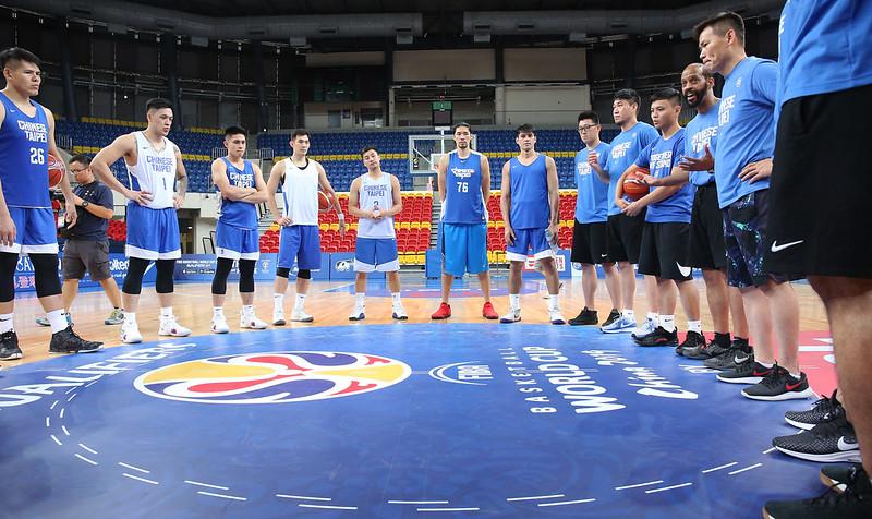 中華男籃全力備戰菲律賓。(籃協提供)