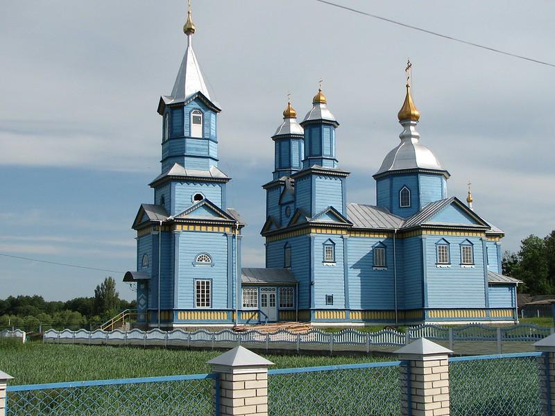Церква у селі Рокитниця