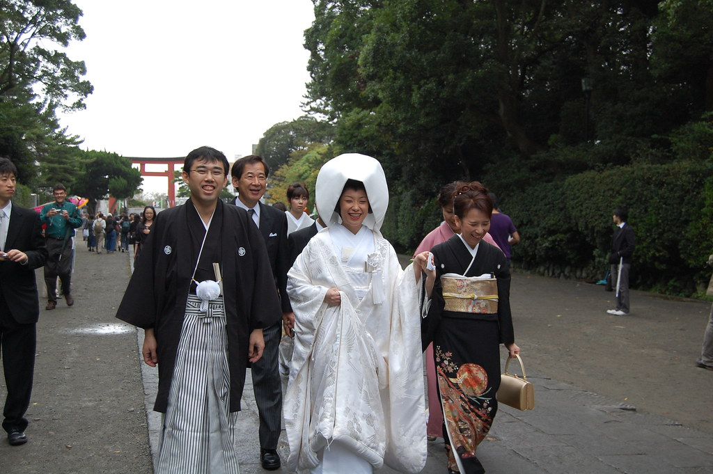 Boda tradicional japonesa en Kamakura