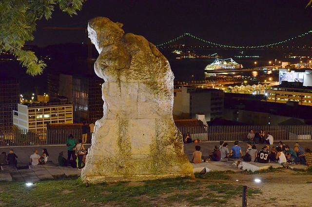 Miradouro de Santa Catalina, Lisbon