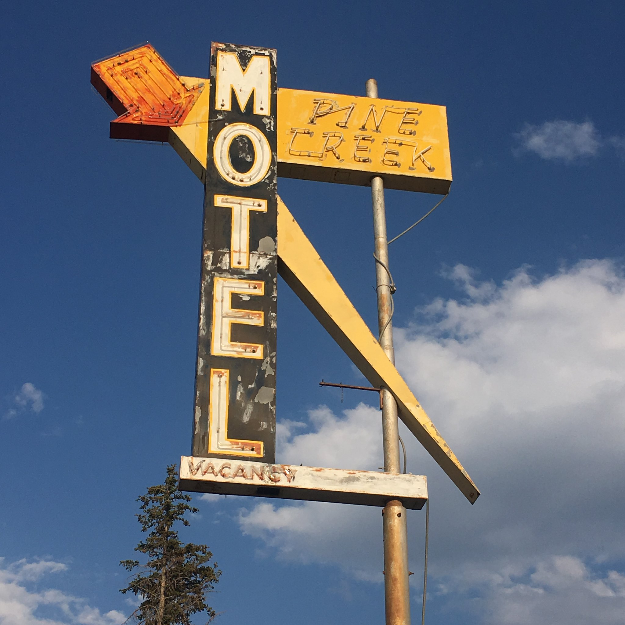 Pine Creek Motel - Pinedale, Wyoming U.S.A. - August 13, 2018