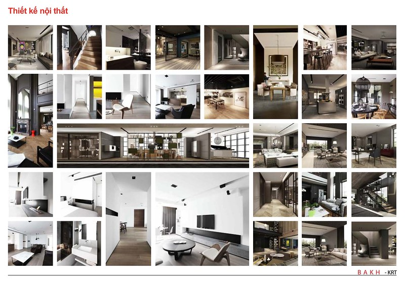 BAKHArchitecture thiết kế nội thất