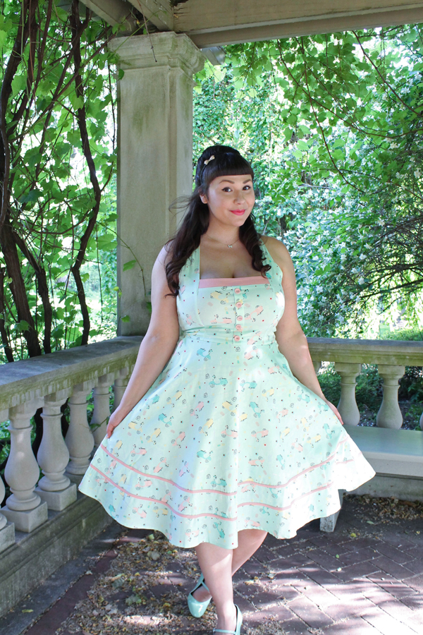 pastel voodoo vixen dress