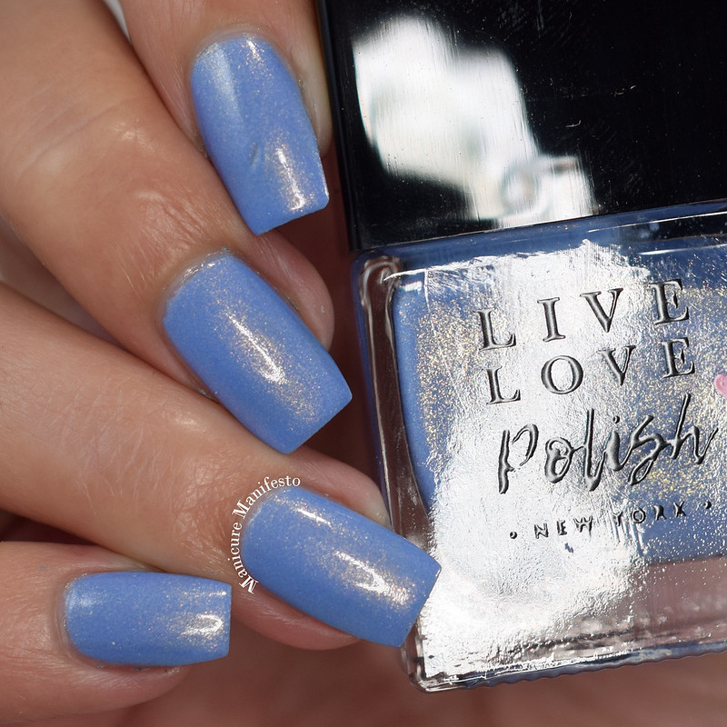 Live Love Polish Something Blue swatch
