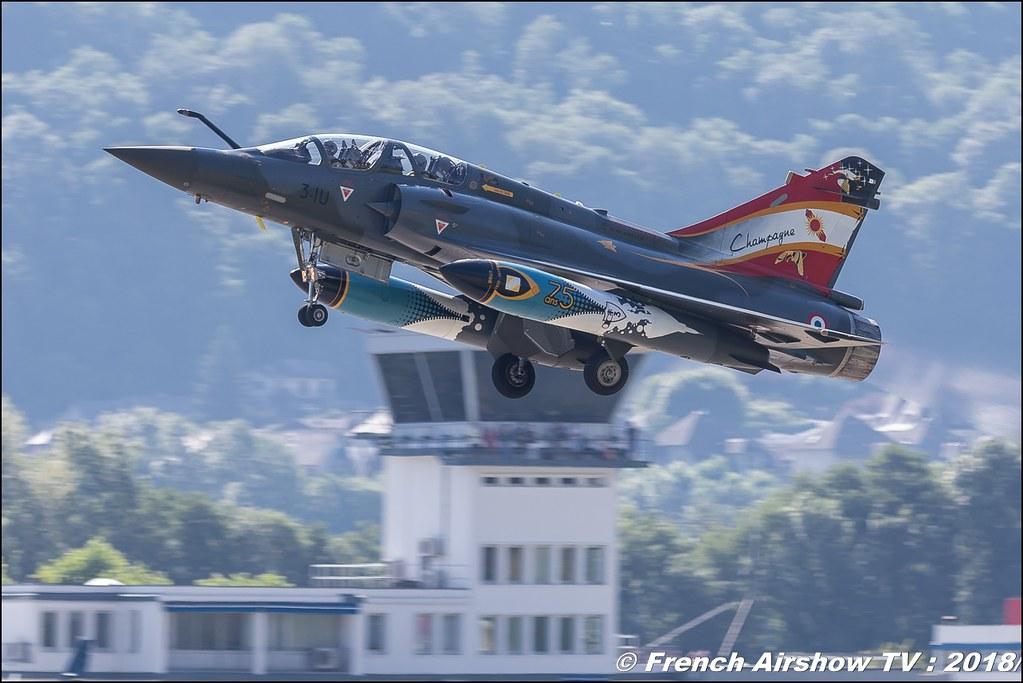 Couteau Delta - Mirage 2000D , Aeroport de Chambery - Savoie Voglans , Alpes Dauphiné , alpes , Canon EOS , Sigma France , contemporary lens , Meeting Aerien 2018