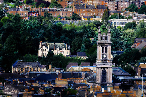 View from Edinburgh Castle in Scotland