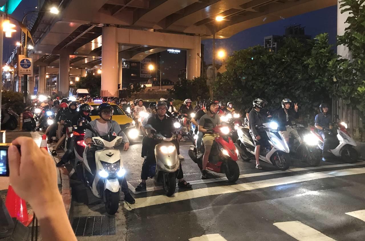 台湾・台北 バイク社会